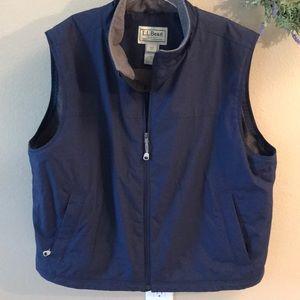 Men's LLBean jacket vest